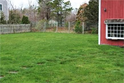 Harwich Cape Cod vacation rental - Spacious Back yard for Outdoor Fun!