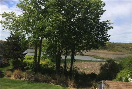 Hyannis Cape Cod vacation rental - View From Deck off Two Upstairs Bedrooms