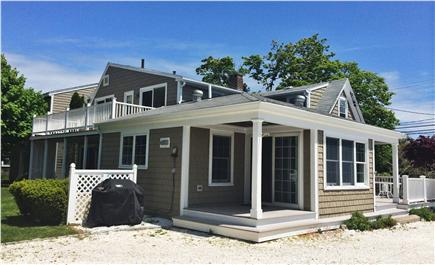 Hyannis Cape Cod vacation rental - Side of House