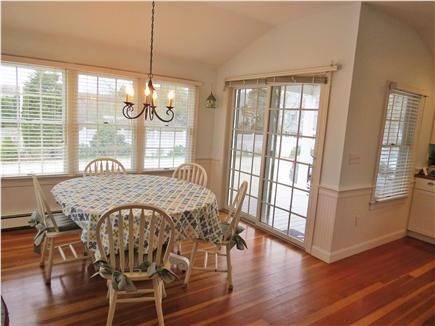 Hyannis Cape Cod vacation rental - Kitchen Table, optional leaves available to extend table