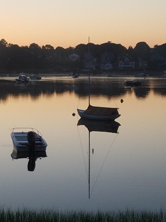 Pocasset, Patuisset Pocasset vacation rental - Morning calm, from your living room.
