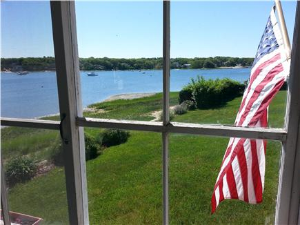 Pocasset, Patuisset Pocasset vacation rental - Porch rocker view; Hens Cove, between Wings & Scraggy Necks