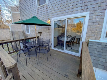 Chatham Cape Cod vacation rental - Deck with Patio Set