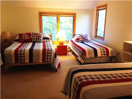 Wellfleet Cape Cod vacation rental - Second floor bedroom #5, double and 2 twin beds