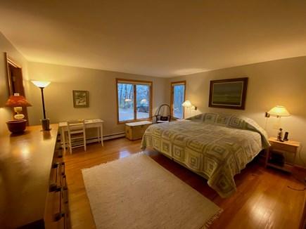 Wellfleet Cape Cod vacation rental - Main floor bedroom #1, king bed tempurpedic mattress