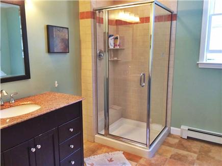 Brewster Cape Cod vacation rental - Master bath with walk in shower and large soak tub