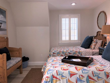 Harwich Port Cape Cod vacation rental - Guest house bedroom with twin beds