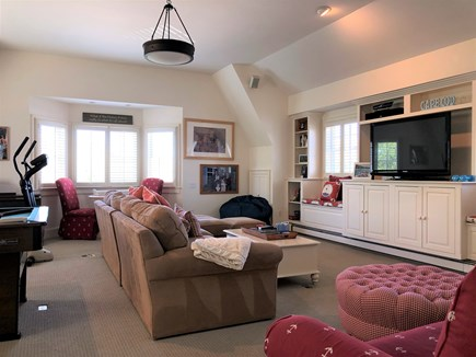 Harwich Port Cape Cod vacation rental - Family Room with flat screen T.V.