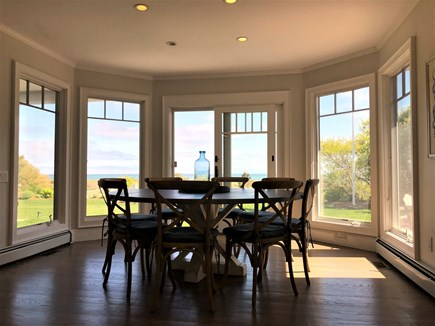 Harwich Port Cape Cod vacation rental - Dining room off kitchen