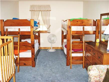 Dennis Cape Cod vacation rental - Bedroom 3:  1bunk, trundle, 2 twins   no crib no new pic yet