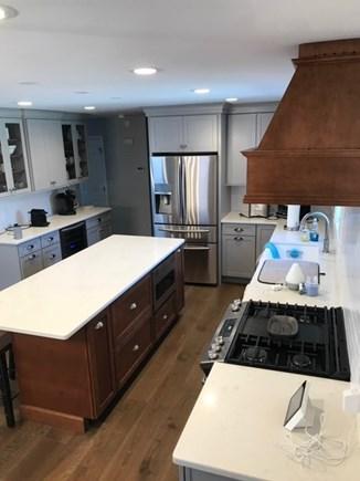 Dennis Cape Cod vacation rental - Kitchen, beverage center w/ beverage fridge