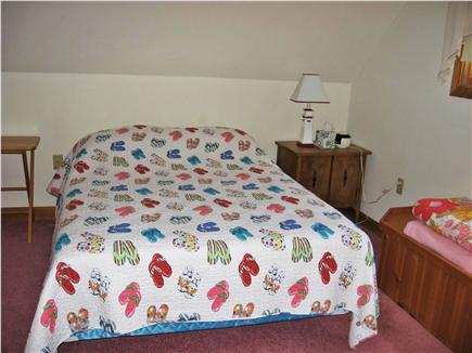 Dennis Cape Cod vacation rental - Bedroom 1:  double,  1 queen, 1 twin