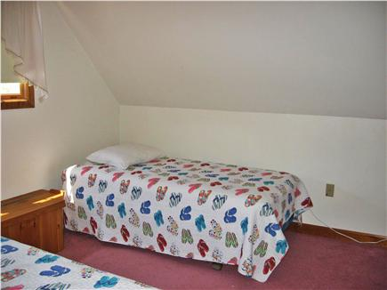 Dennis Cape Cod vacation rental - Bedroom 1:  twin closet and chest of drawers in this room