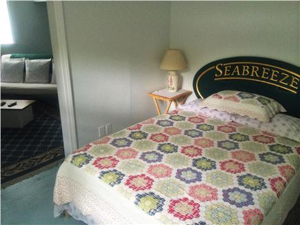 Harwich Cape Cod vacation rental - Bedroom view from living area doorway.
