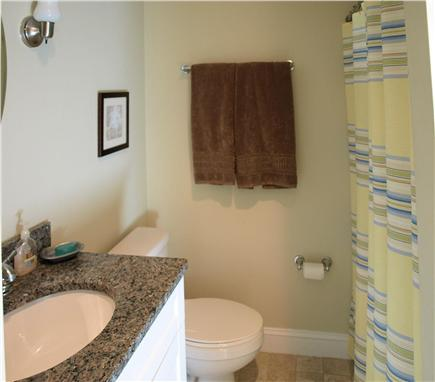 East Falmouth Cape Cod vacation rental - Second bathroom with tub/shower
