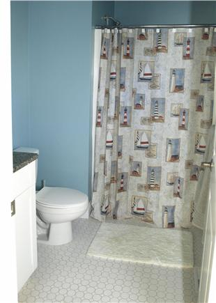East Falmouth Cape Cod vacation rental - Bathroom off master bedroom. Shower