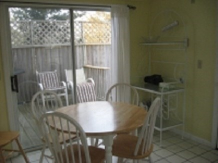 East Dennis Cape Cod vacation rental - Eat in Kitchen on 1st Floor