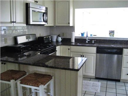 East Dennis Cape Cod vacation rental - Eat in kitchen.