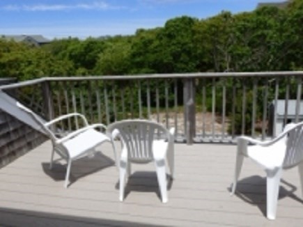 East Dennis Cape Cod vacation rental - 2nd Floor Deck