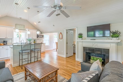 West Yarmouth Cape Cod vacation rental - Open Kitchen/Living Room