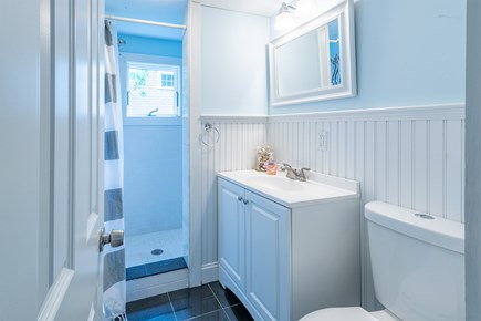 West Yarmouth Cape Cod vacation rental - Tiled Shower, Main Bathroom