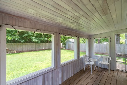 West Yarmouth Cape Cod vacation rental - Porch