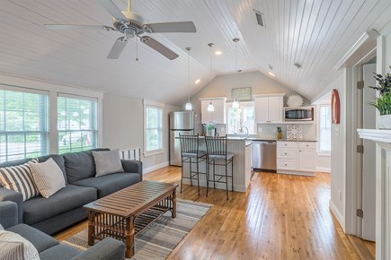 West Yarmouth Cape Cod vacation rental - Kitchen/Living Room from Dining Area
