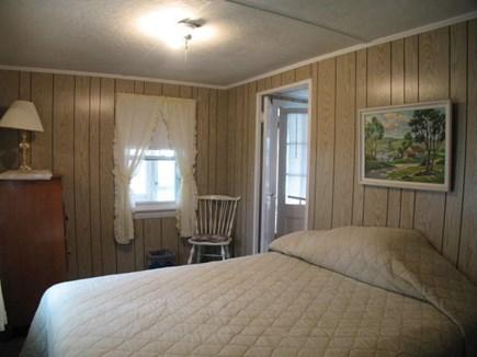Dennisport Cape Cod vacation rental - Master bedroom with queen bed (other bedroom not pictured yet)