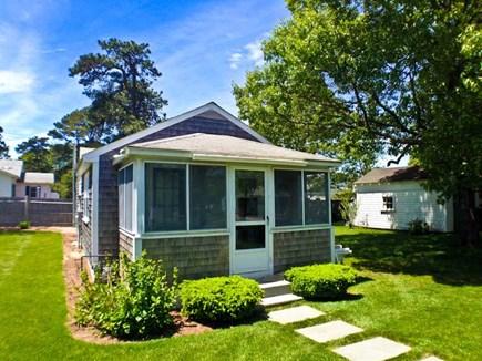 Dennisport Cape Cod vacation rental - Enter through the screened porch