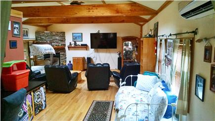 West Yarmouth Cape Cod vacation rental - Living room 20' x 30'