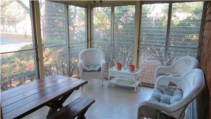 West Chatham Cape Cod vacation rental - Enclosed Porch