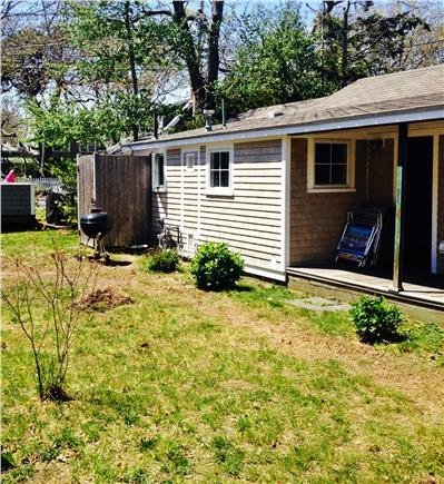 Harwich Port Cape Cod vacation rental - Back view of cottage