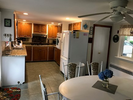 Bass River South Yarmouth Cape Cod vacation rental - Eat in kitchen.