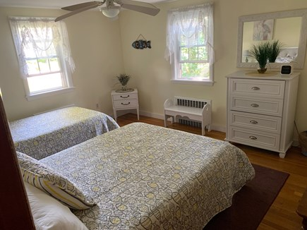 Bass River South Yarmouth Cape Cod vacation rental - Bedroom to sleep 3. One full size bed, and one twin bed.