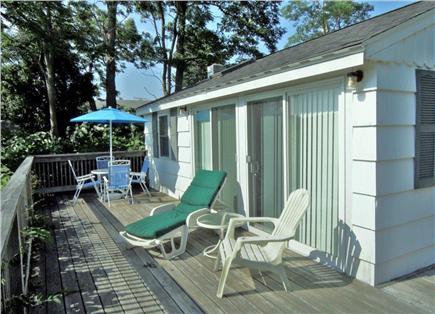 Wellfleet Cape Cod vacation rental - Beautiful, sunny deck