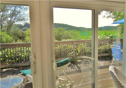 Wellfleet Cape Cod vacation rental - Sliders to the deck offering views from inside