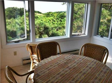 Truro Cape Cod vacation rental - 3rd floor for reading, drinks, conversation or a sunset viewing