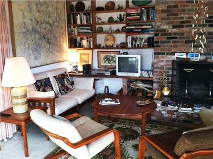 Truro Cape Cod vacation rental - Relax in our  cozy livingroom