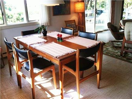 Truro Cape Cod vacation rental - Or eat inside with the same lovely view