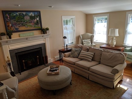 Cotuit Cotuit vacation rental - Swivel chairs allow conversation or screen viewing.