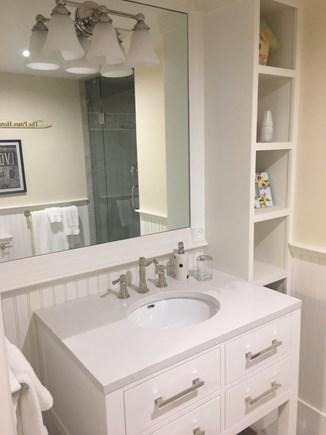 Cotuit Cotuit vacation rental - The new 1st floor bath is next to the bedroom.