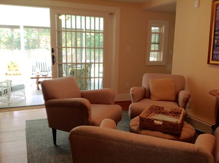 Cotuit Cotuit vacation rental - The large door in the morning room lets in sun and cross breezes.