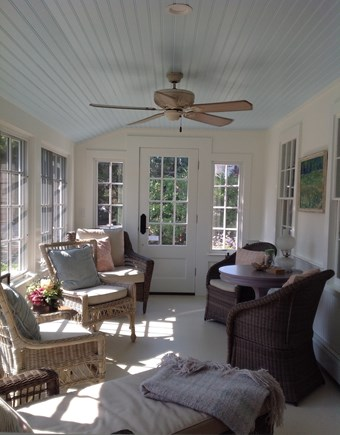 Cotuit Cotuit vacation rental - Watch joggers and dog walkers as you sip your morning coffee.