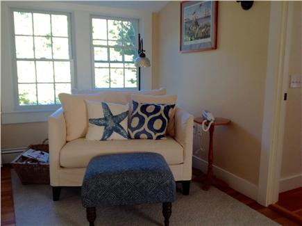 Cotuit Cotuit vacation rental - Reading nook at the top of the stairs is a favorite quiet spot.