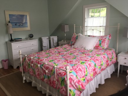 Cotuit Cotuit vacation rental - The Girls' Room has a queen size bed and fulllength mirror.