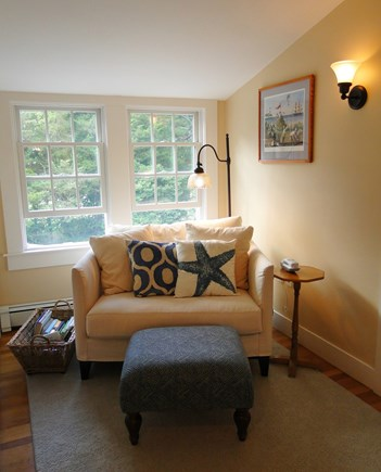 Cotuit Cotuit vacation rental - At the top of the stairs – the reading nook