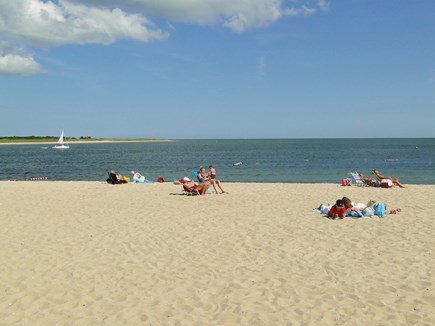 Cotuit Cotuit vacation rental - Loop beach, 1/4 mile away (5 minute walk); Riley's closer