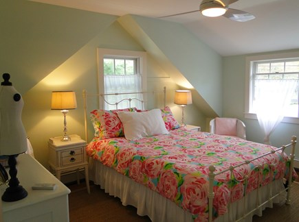 Cotuit Cotuit vacation rental - The Girls' Room has a queen size bed and full-length mirror
