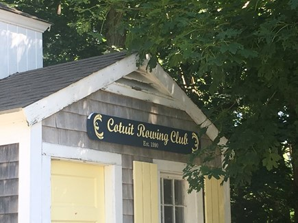 Cotuit Cotuit vacation rental - Early risers may see (or join) rowers in Cotuit Harbor.