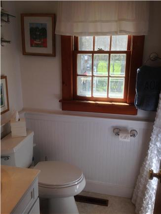 South yarmouth Cape Cod vacation rental - Bathroom with tub/shower